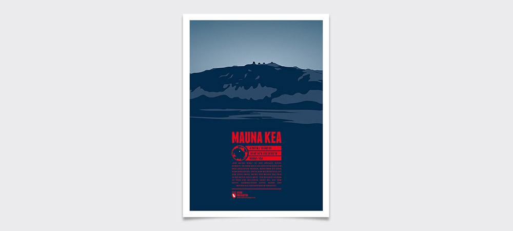 Mauna Kea, Hawaii, USA - höchster Berg auf der pazifischen Kontinentalplatte