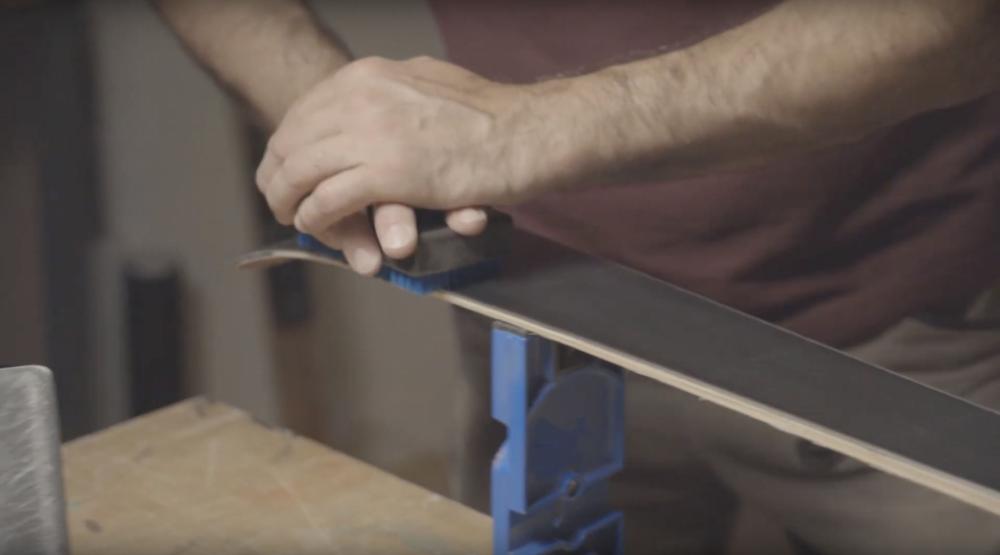 Ski wachsen Copper Brush