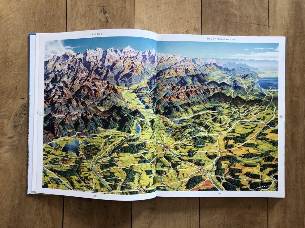 Allgäu-Panoramakarte