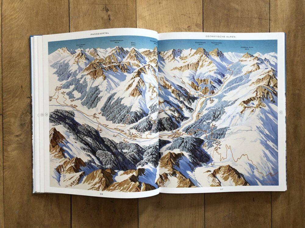 Passeiertal-Panoramakarte