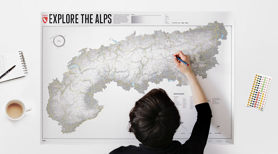 Explore the Alps - Marking