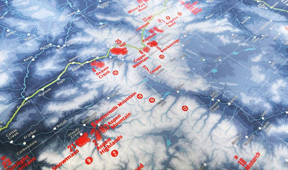 Ski Resorts Of Colorado Marmota Maps