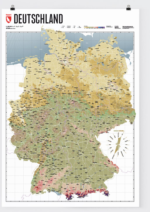 Map Of Germany Marmota Maps