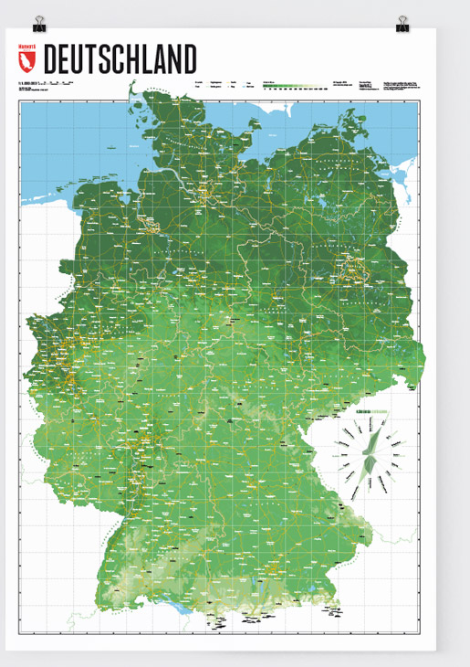 Map Of Germany Marmota Maps