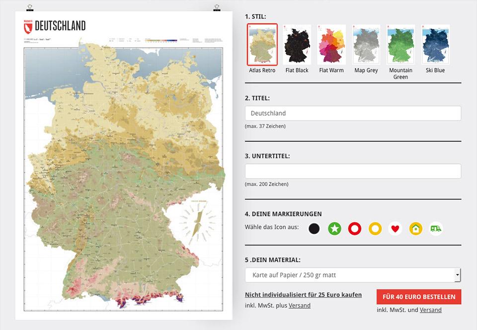 Deutschlandkarte Individualisieren So Geht S Marmota Maps