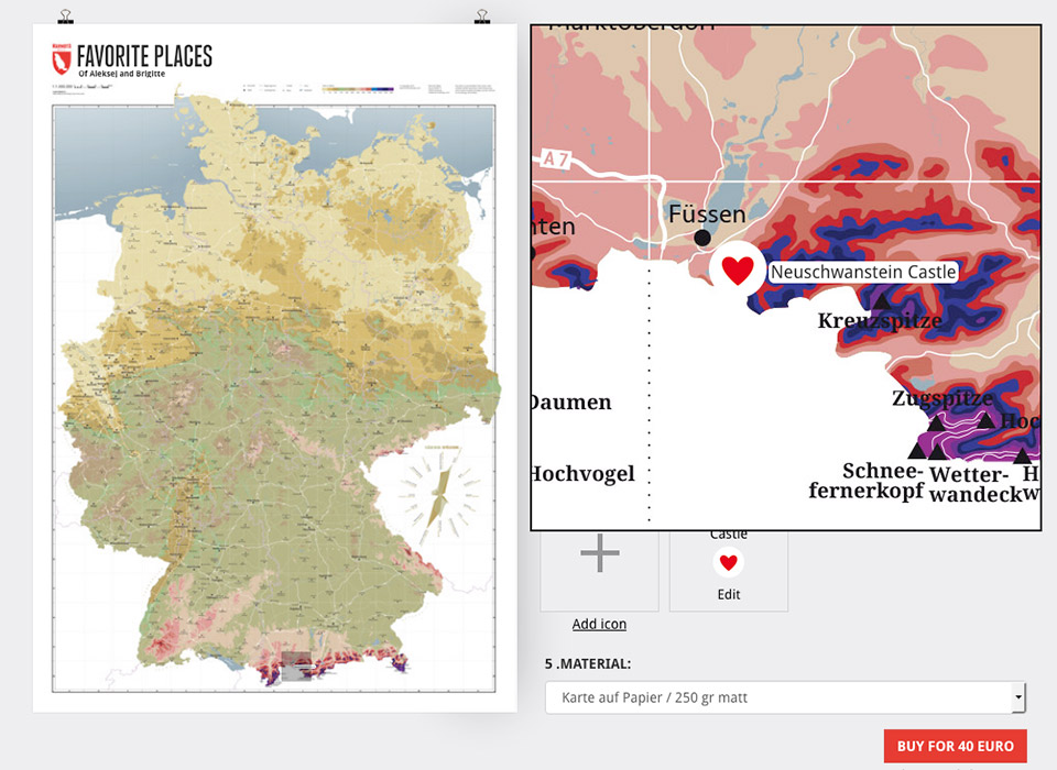 Customizable Map Of Germany Marmota Maps
