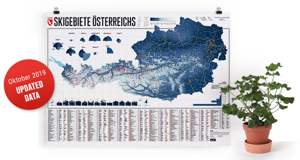 map - Ski Resorts of Austria