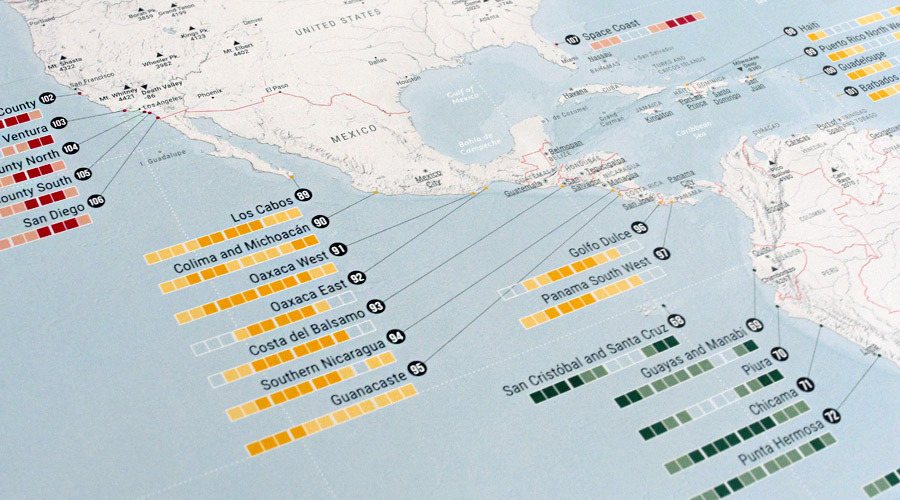 Surfing Worldwide - the ultimate map - Marmota Maps