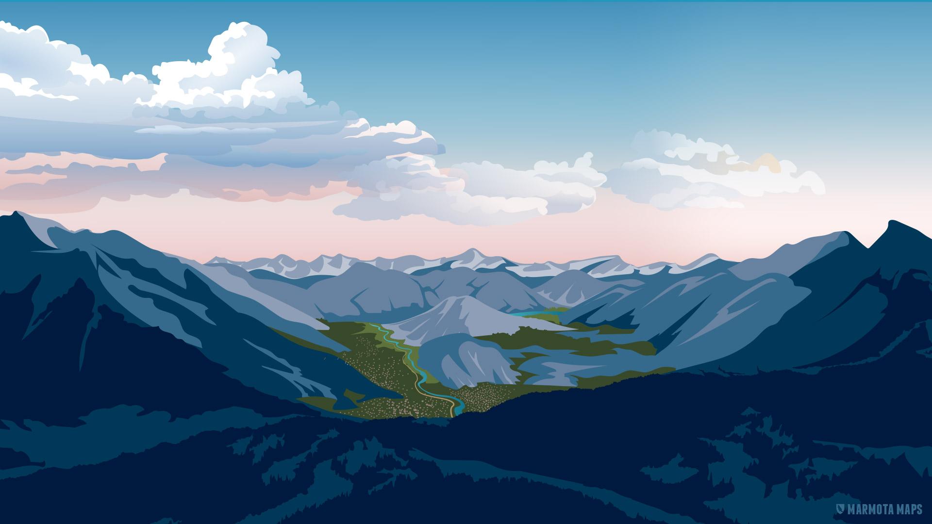 Wallpaper fürs Smartphone   Marmota Maps