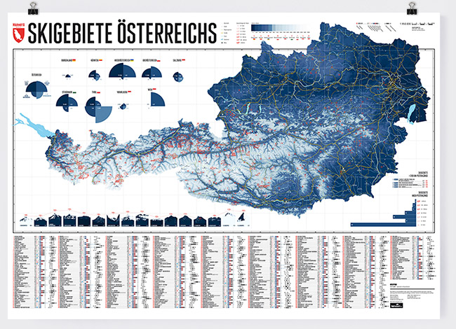Alle Skigebiete Osterreichs Auf Einer Landkarte Marmota Maps